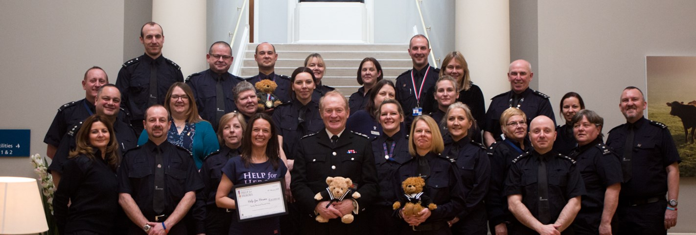 UK Border Force staff raise over £150,000 for Help for Heroes