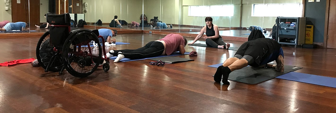 Yoga for Wellbeing - Recovery College