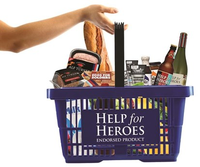 Help for Heroes Shopping Basket