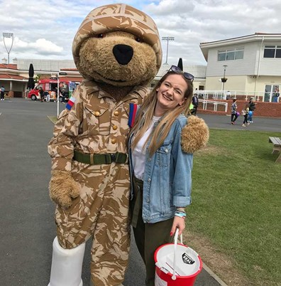 Sophie Groves Volunteering Help for Heroes