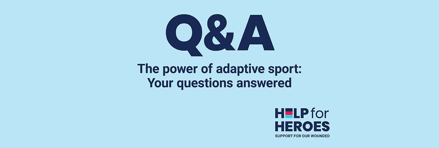 The power of sport and looking forward to the Invictus Games – your questions answered
