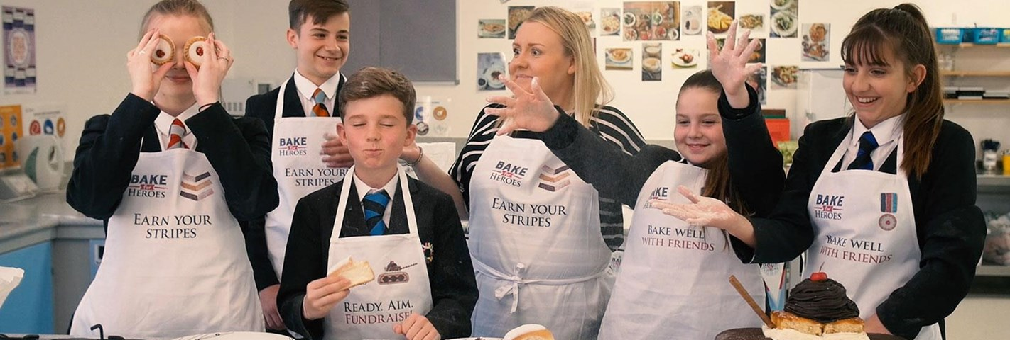 Wellington Academy staff and students are baking for Heroes