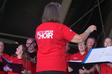 Help for Heroes Choir
