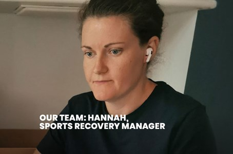 Hannah Lawton Sports Recovery Team