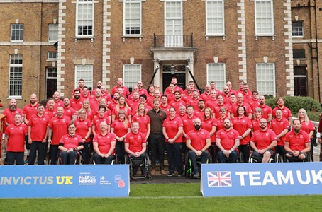 Invictus Games The Hague 2020 - Team UK Unveiled