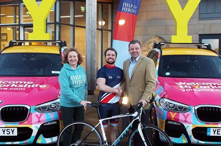 Help for Heroes and Tour De Yorkshire Gear Up for 2019 Partnership