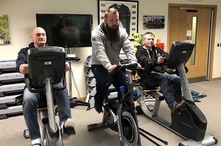 Emperor Ride provides 3 new bikes for Help for Heroes