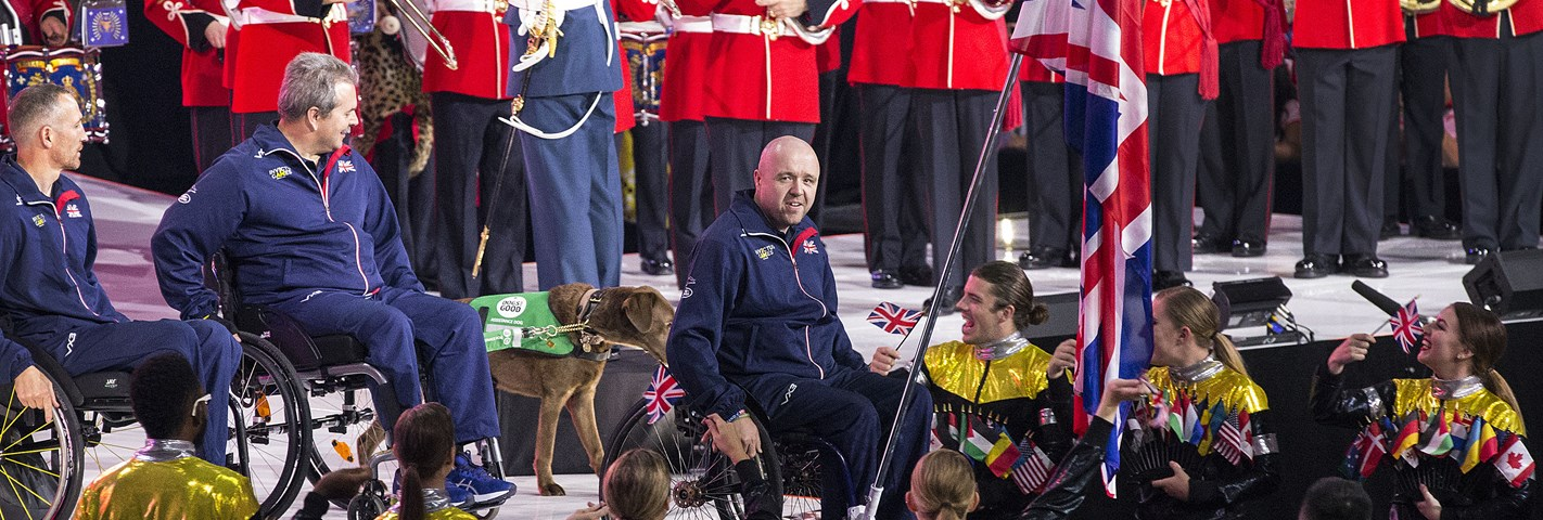 The UK Team arrives in Toronto for Invictus Games 2017!