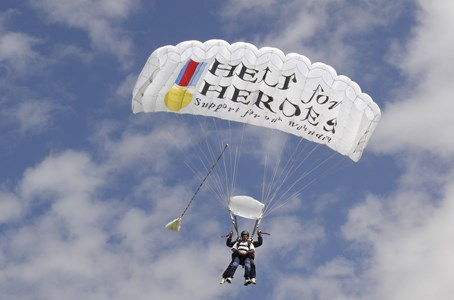 Skydive for Heroes
