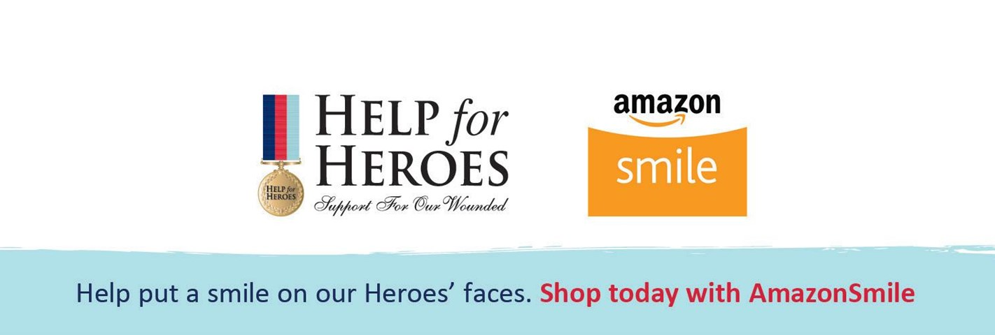 Put a smile on our Heroes' faces with Amazon