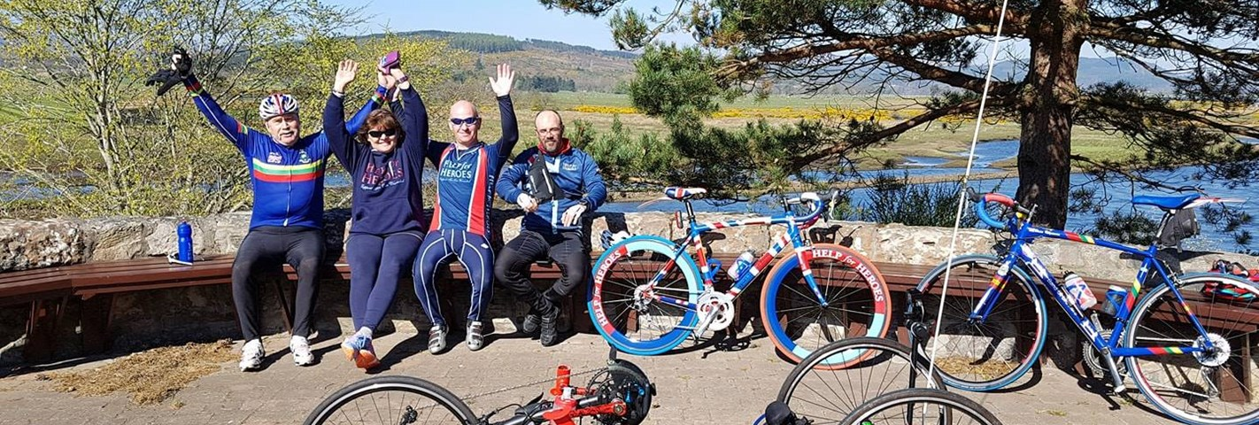 Wounded veteran trio take on 1,400 mile cycle to recovery through UK