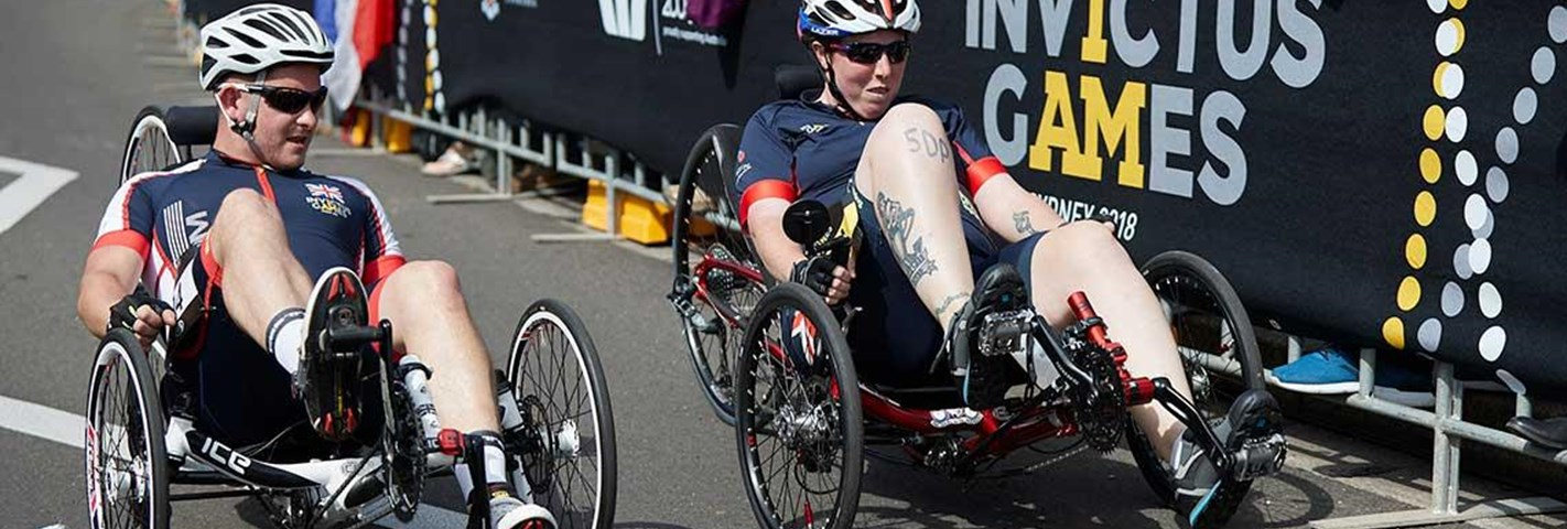 Team Ethos becomes Official Fundraising Partner of Team UK for the Invictus Games The Hague 2020