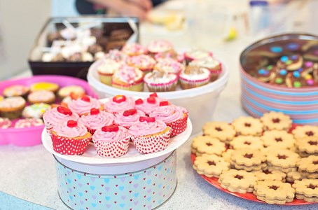Top tips on hosting a socially distanced bake sale
