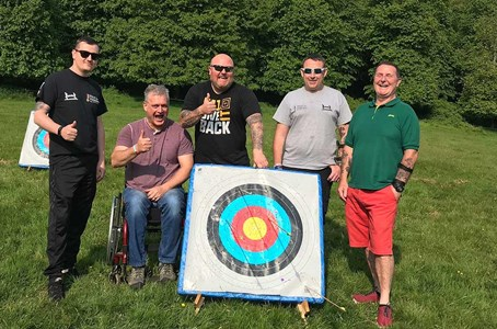 Help for Heroes Sports Recovery on Target in Wales