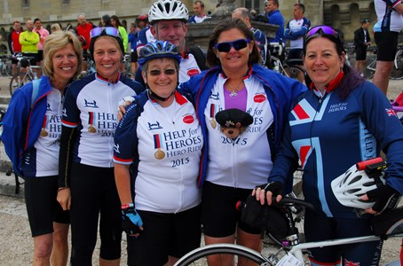 BBBR fundraiser gets on her bike after 40 years