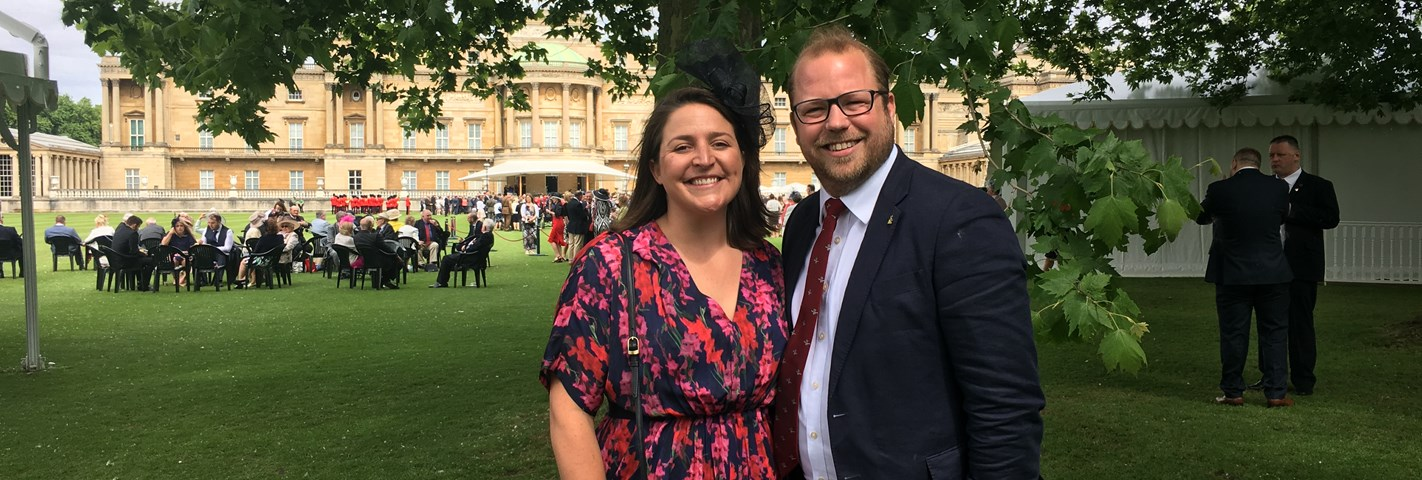 BoB BoS National Updates | Buckingham Palace Garden Party