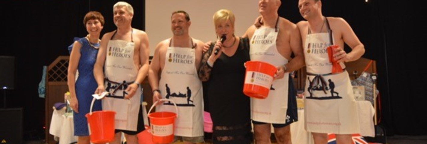 Fundraiser, Band of Sister, and mother Karin recalls the support Help for Heroes has provided her son