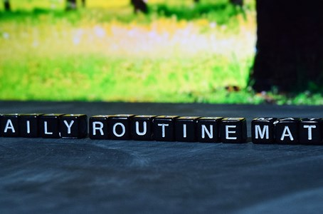 Tips for creating a healthy routine