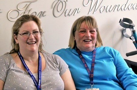 Mother and daughter rebuild their lives with charity's support