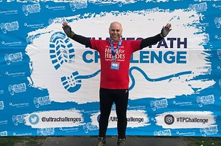 Follow in Paul's footsteps and take on the ultimate challenge
