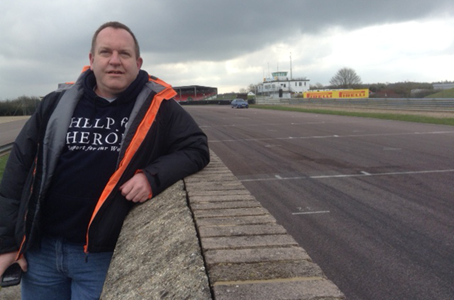 Help for Heroes and Mission Motorsport continue to help rebuild lives