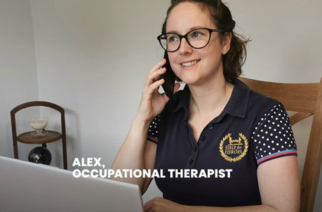 How our Occupational Therapist is delivering therapy virtually and over the phone